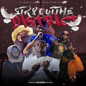 Str8 Out The District DJSweizy15 front cover