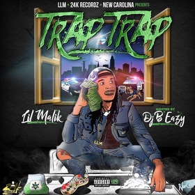 Trap Trap EP Lil Malik front cover