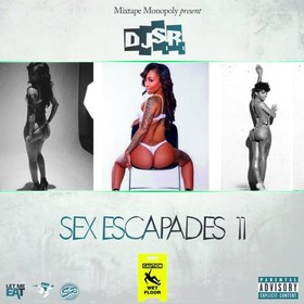 Sex Escapades 11 DJ S.R. front cover