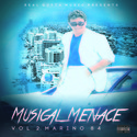 MUSICAL MENACE VOL 2. MARINO 84 Real Gutta Music front cover