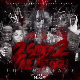 LOBG & JV - 2 Sides 2 One Story MellDopeAF front cover