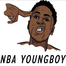 NBA YoungBoy (The Mixtape) OfficialYoungRB front cover