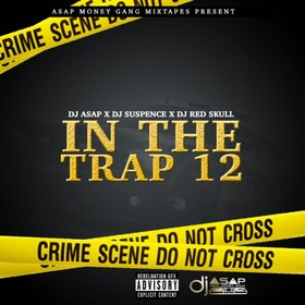 In The Trap 12 DJ ASAP front cover