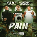 F.B.M.G. Youngins - Pain DJ Ben Frank front cover
