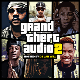Grand Theft Audio 2 DJ Jah Will front cover