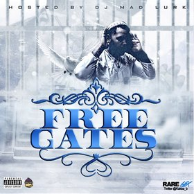 Free Kevin Gates DJ Mad Lurk front cover