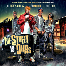 The Street Is Ours DJ Ricky Allenz front cover