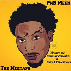 PnB Meen (The Mixtape) OfficialYoungRB front cover