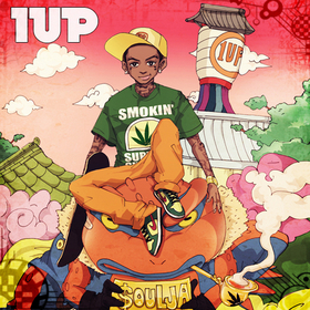 1up Soulja Boy front cover