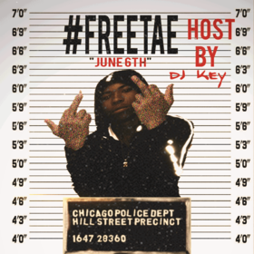 #FreeTae TrappedOutTae front cover