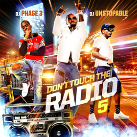 Don't Touch The Radio 5 DJ Phase 3 front cover