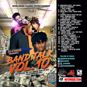 Worldwide Soundz DJ Chase - Band Talk Vol 10 (For Promo Use Only) DJ Chase front cover
