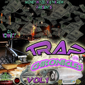 Trap Chronicles Vol.1 DJ Konnect  front cover