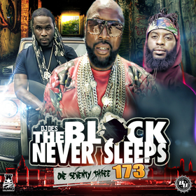 THE BLOCK NEVER SLEEPS 173 DJ DES front cover