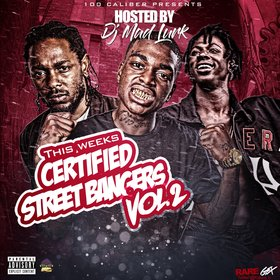 This Week's Certified Street Bangers Vol. 2 DJ Mad Lurk front cover