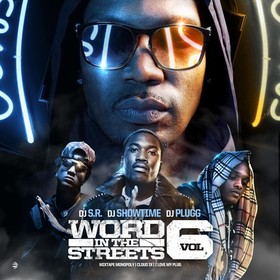 Word In The Streets 6 DJ S.R. front cover