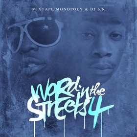 Word In The Streets 4 DJ S.R. front cover