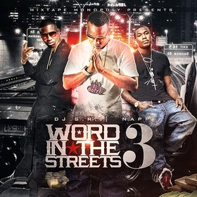 Word In The Streets 3 DJ S.R. front cover