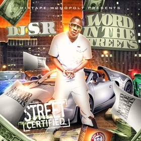 Word In The Streets DJ S.R. front cover
