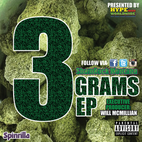 3 Grams EP Real Shamrock Montana front cover