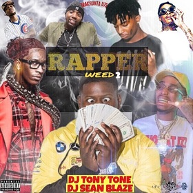 Rapper Weed 2 DJ Tony Tone front cover