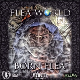 Flea World Born Flea front cover