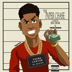 The Paper Chase Young Ca$ton front cover