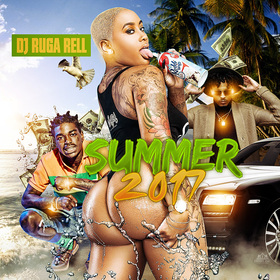 Summer 2017 DJ Ruga Rell front cover