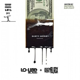 Dirty Money Krazy Blacx front cover
