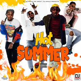 #HotThisSummer DJ Supreme The Great front cover