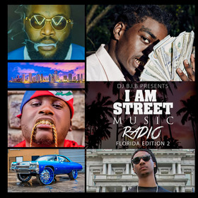 I Am Street Music Radio: Florida Edition 2 DJ B.I.B front cover