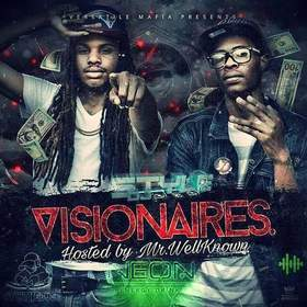 """Visionaires"" Hosted by DJ Styles DJ Bankroll front cover"