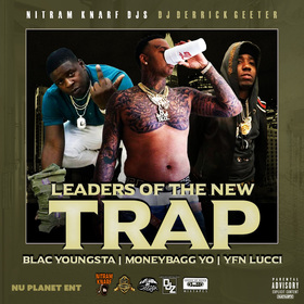 Leaders Of The New Trap DJ DERRICK GEETER front cover