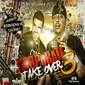 Corporate Take Over Vol 3 Various Artists front cover