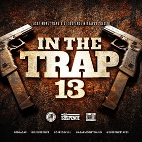 In The Trap 13 DJ ASAP front cover