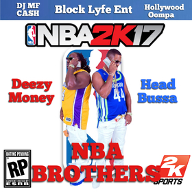 NBA Brothers Head Bussa front cover