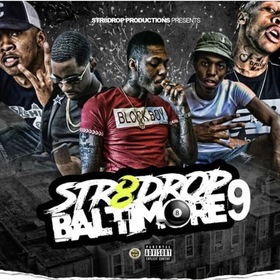 Str8Drop Baltimore Vol.9 Str8Drop Prod. front cover