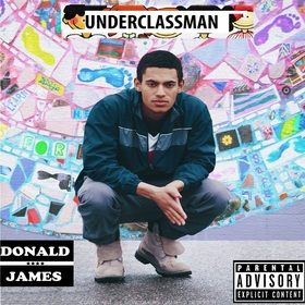 Underclassman Donald James front cover