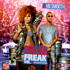 College Freak 23 DJ HB Smooth front cover