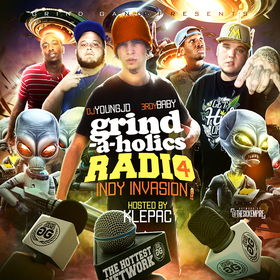 Grind-A-Holics Radio 4: Indy Invasion (Hosted By Klepac) DJ Young JD front cover