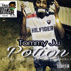 Tommy Ju - POTION TyyBoomin front cover