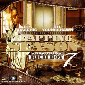 Trapping Season 7 (Hosted by Rich Boy) DJ Boss Chic front cover