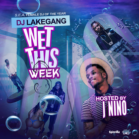 Wet This Week Vol 3 DJ LakeGang front cover