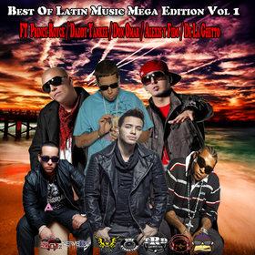 Best of Latin Music Mega Edition Vol 1  DJ Papito front cover