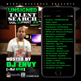 UTS: vol 50 (Hosted by DJ ENVY) pt.23 + presented by Top21Mixtapes Top 21 Mixtapes front cover