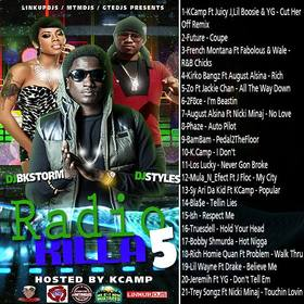 Radio Killa 5 (Hosted By K Camp) DJ BkStorm front cover