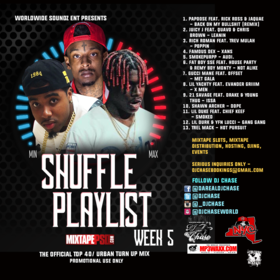 Worldwide Soundz DJ Chase - The Shuffle Playlist Week 5 (For Promo Use Only) DJ Chase front cover