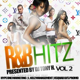 DJ Tony H. R&B Hitz Vol. 2 DJ Tony H front cover
