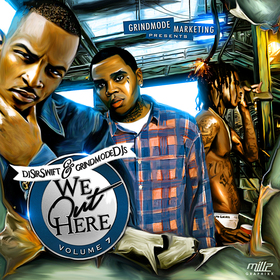 We Out Here Vol. 7 Dj Sir Swift front cover