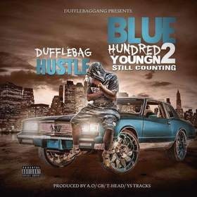 Blue Hundred YoungN 2 Dufflebag Hustle front cover
